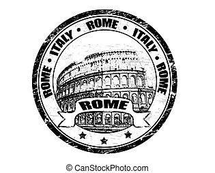 stämpel, rom