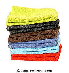 stack, handdukar