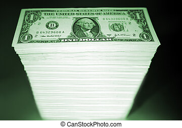 stack, kontanter