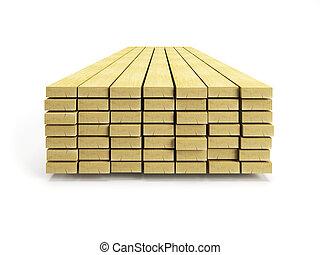 stack, plankor