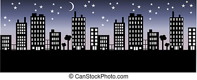 stad horisont