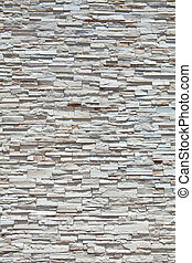 sten, fyllda, kvarter, vägg, många, ram, sandsten, gjord