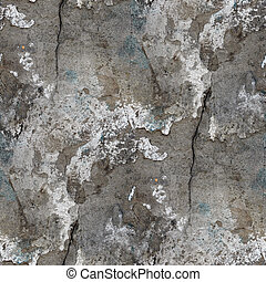 sten, gammal, vägg, seamless, struktur, bakgrund, spricka