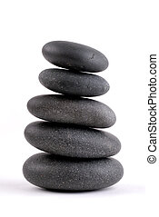 stenar, stackat