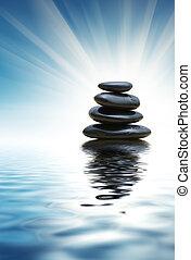 stenar, zen, stack