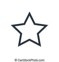 stjärna, skissera