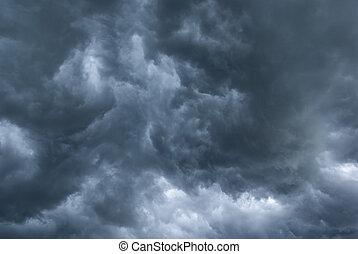 stormig, clouds.