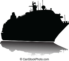 stort, passengership