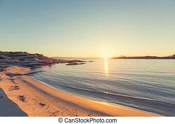 strand, grekland