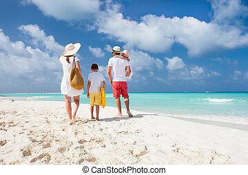 strand semester, familj