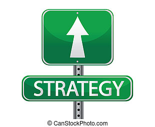 strategi, begrepp, gatuskylt