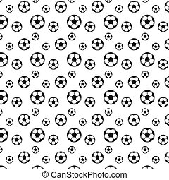 struktur, fotboll, seamless, fotboll, bakgrund.