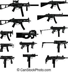 submachine gevär