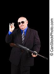 svart fond, regering, gangster, fbi, över, eller, medel