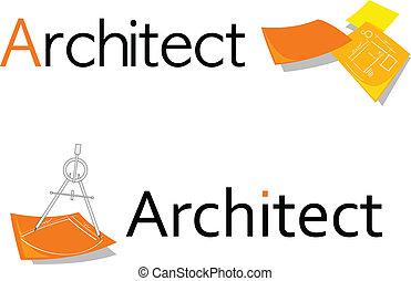 symbol, arkitekt