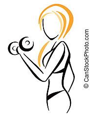 symbol, fitness