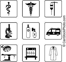 symboler, medicinsk