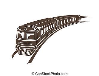 tåg, nymodig