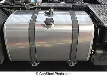 tanka åker lastbil, cistern