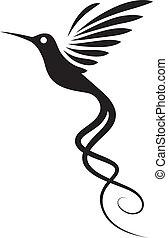tatuera, kolibri