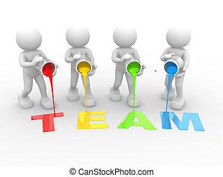 """""""team"""", ord"""