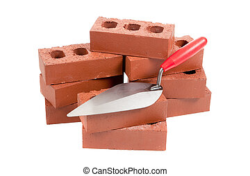 tegelstenar, murslev, frimurare