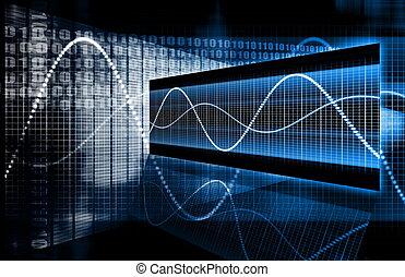 teknologi, multimedia, data