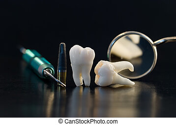 titan, dental, implantat
