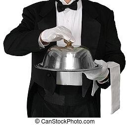 tjänat, middag