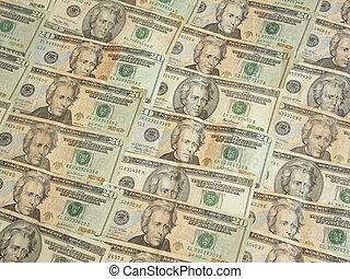 tjugo, lagförslaget, dollar