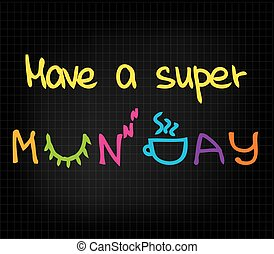 toppen, ha, måndag