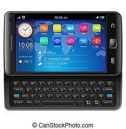 touchscreen, sida, slider, smartphone