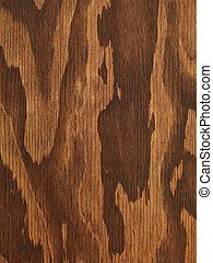 trä, brun, kryssfaner, struktur