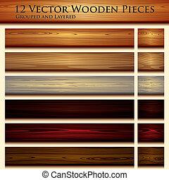 trä struktur, bakgrund, illustration, seamless