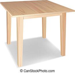 trä tabell
