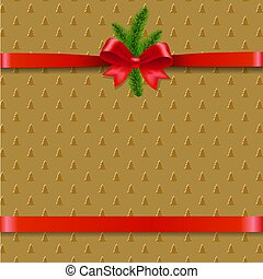 träd, jul, bakgrund, bog, jul, band