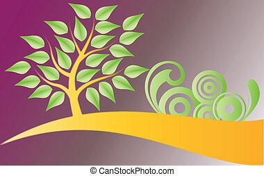 träd, utsmyckningar