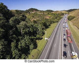 trafik, highways.