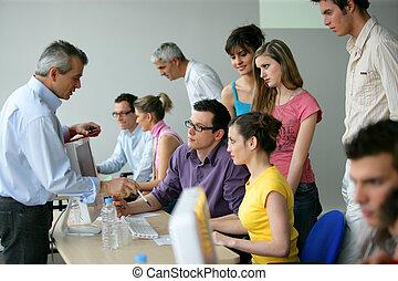 utbildning, utbildning, businesspeople