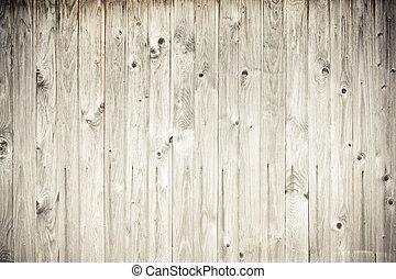 uthärdade ved, planka, staket