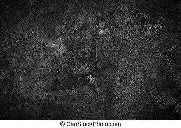 vägg, abstrakt, struktur, skum fond, svart, design