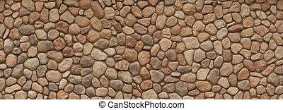 vägg, fält, sten