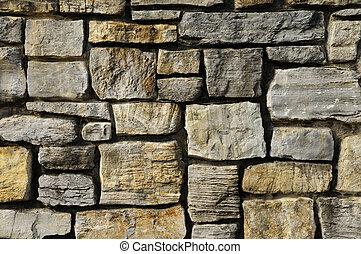 vägg, frimureri, struktur, vagga