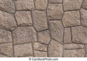 vägg, granit, seamless, struktur