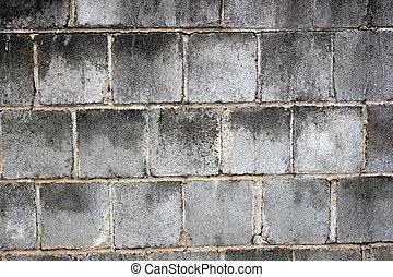 vägg, kvarter