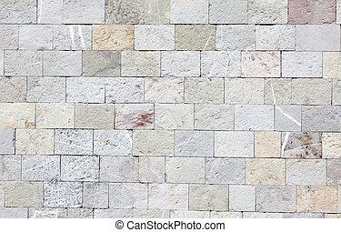 vägg, kvarter, marmor, struktur