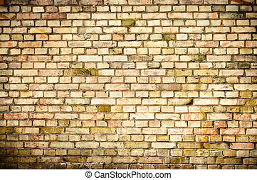 vägg, liten, kvarter, grunge, struktur