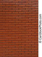 vägg, mönster, tegelsten