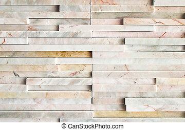 vägg, nymodig, marmor