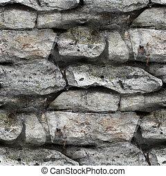 vägg, seamless, struktur, bakgrund, granit, tegelsten